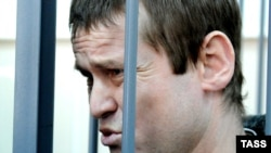 Леонід Развозжаєв на суді в Москві, 29 березня 2013 року