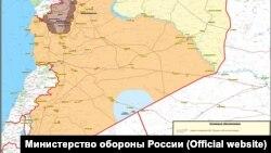 Zona ku patrullon ushtria ruse në Siri