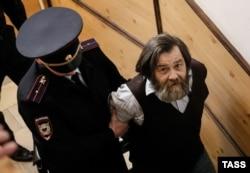 Сергей Мохнаткин в суде, 2014 год
