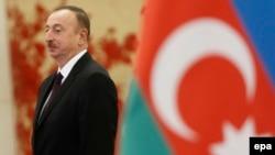 Әзірбайжан президенті Илхам Әлиев.