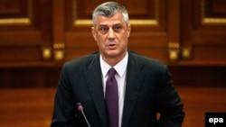 Kryeministri i Kosovës, Hashim Thaçi (ARKIV)