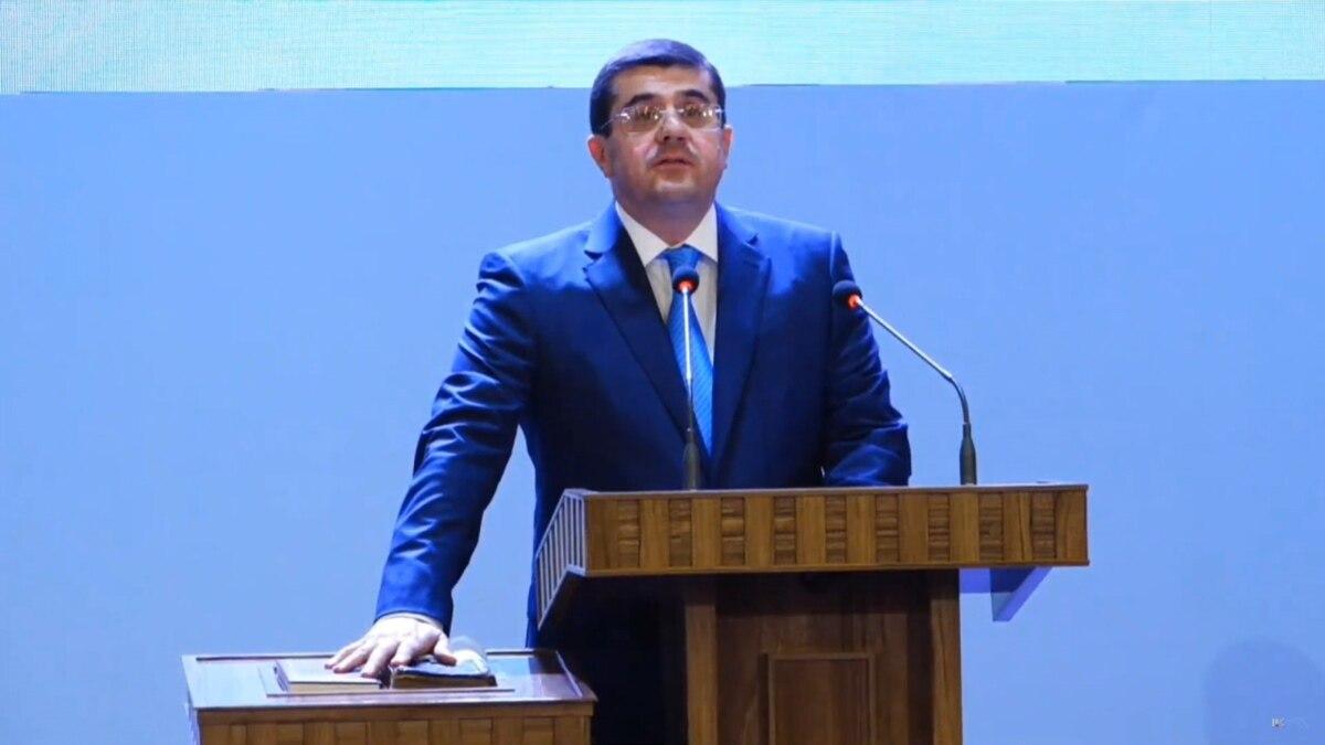 New Karabakh Leader Inaugurated