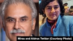 Zafar Mirza (left) and Tania Aidrus (combo photo)