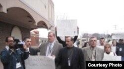 تظاهرة للجالية العراقية في ولاية ميشيغان