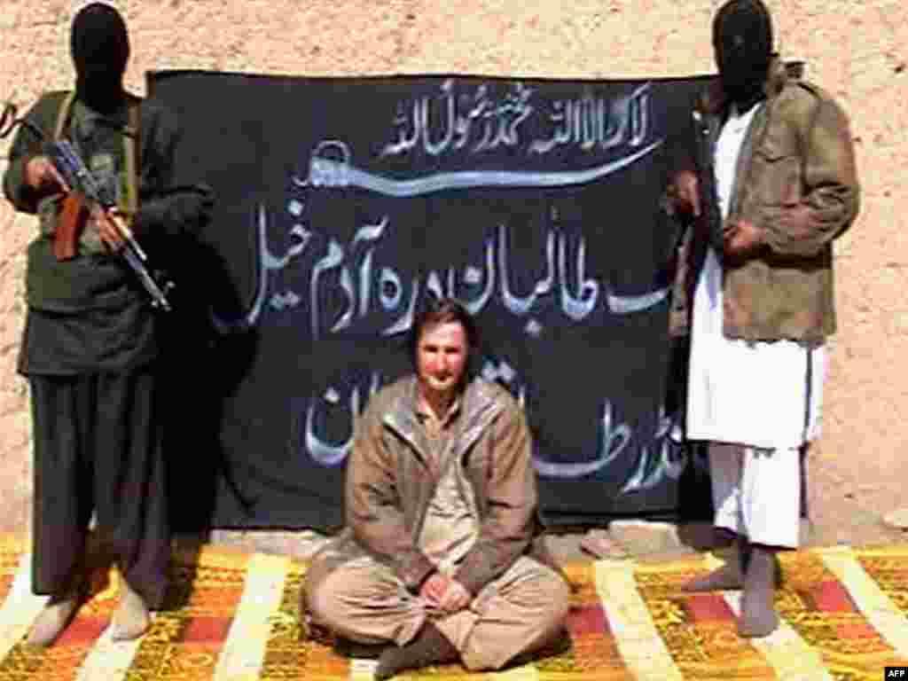 Талибы обнародовали видеозапись казни польского инженера Петра Станчака