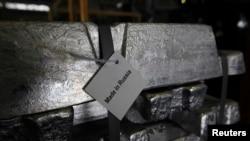Алюміній російського виробництва, ілюстративне фото