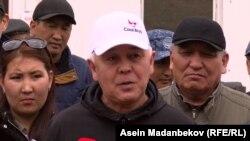 Директор Госагентства охраны окружающей среды и лесного хозяйства Абдыкалык Рустамов.