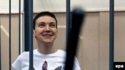Надежда Савченко в Басманном суде