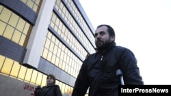 Georgia -- Akhmed Chatayev has already left Tbilisi Civil Court. Tbilisi, 06Dec2012