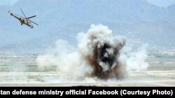آرشیف، حمله هوایی نیروهای افغان بر مواضع مخالفین مسلح دولت
