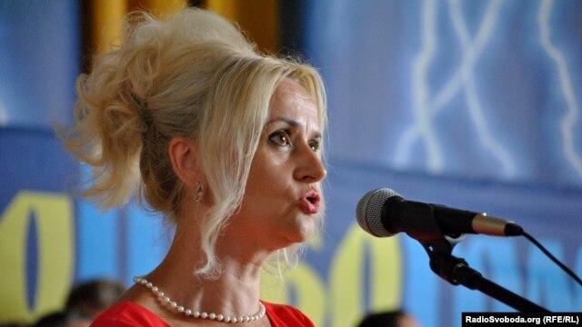 Народний депутат України від ВО «Свобода» Ірина Фаріон