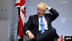 Ұлыбритания премьер-министрі Борис Джонсон.