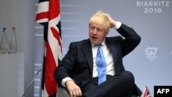 Премьер-министр Борис Жонсон.