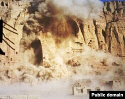The Bamiyan Buddha was destroyed by the Taliban.