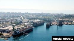 Pamje e portit të Splitit