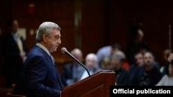 Հայաստանի նախագահը ելույթ է ունենում Հարվարդի համալսարանի Քենեդիի անվան կառավարման դպրոցում: 30-ը մարտի, 2016 թ․