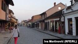 Prazne ulice Valjeva, fotoarhiv