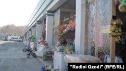Приграничный рынок. Фото из архива