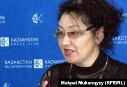Зульфия Мойсейченко. Алматы, 18 қазан 2011 жыл.