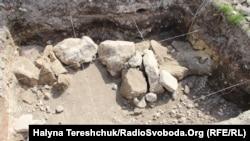 Місце проведення розкопок
