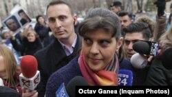 Fosta șefă a DNA este anchetată chiar în timpul cursei pentru obținerea postului de procuror-șef european.