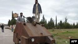 Kryengritës sirianë...