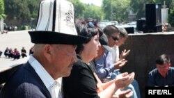 Киргизы готовятся отметить сороковины по жертвам беспорядков 7 апреля