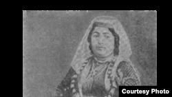Mirzə Fətəli Axundzadə arvadı Tubu xanım.