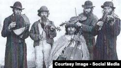 В России клезмер исполняют давным-давно. Архивное фото 1900 года