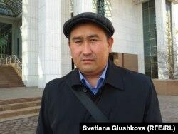 Юрист Амангельды Шорманбаев.