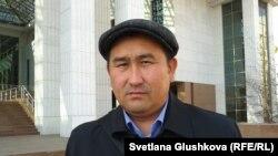 Юрист Амангельды Шорманбаев. Астана, 17 апреля 2014 года.