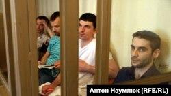 Слева направо: Руслан Зейтуллаев, Нури Примов, Рустем Ваитов, Ферат Сайфуллаев