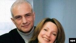 Юлия Тимошенко ире белән. 2004 ел.