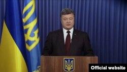 Укрaинa президенти Петро Порошенко.