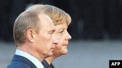 Njemačka kancelarka Angela Merkel i ruski premijer Vladimir Putin