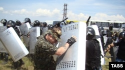 Бой спецназа и казаков был коротким, но решительным
