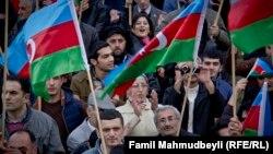 Milli Şuranın mitinqi - 9 noyabr 2014