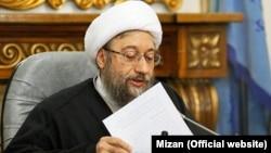 Садег Лариджани, глава судебной власти Ирана.