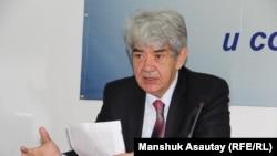 Эколог Мэлс Елеусизов. Алматы, 24 декабря 2015 года.