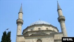 The Cuma Mosque in Baku