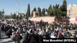 Foto nga arkivi -- Protestë në Quetta.
