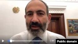 Никол Пашинян в прямом эфире на своей странице в Facebook, Ереван, 21 ноября 2018 г.