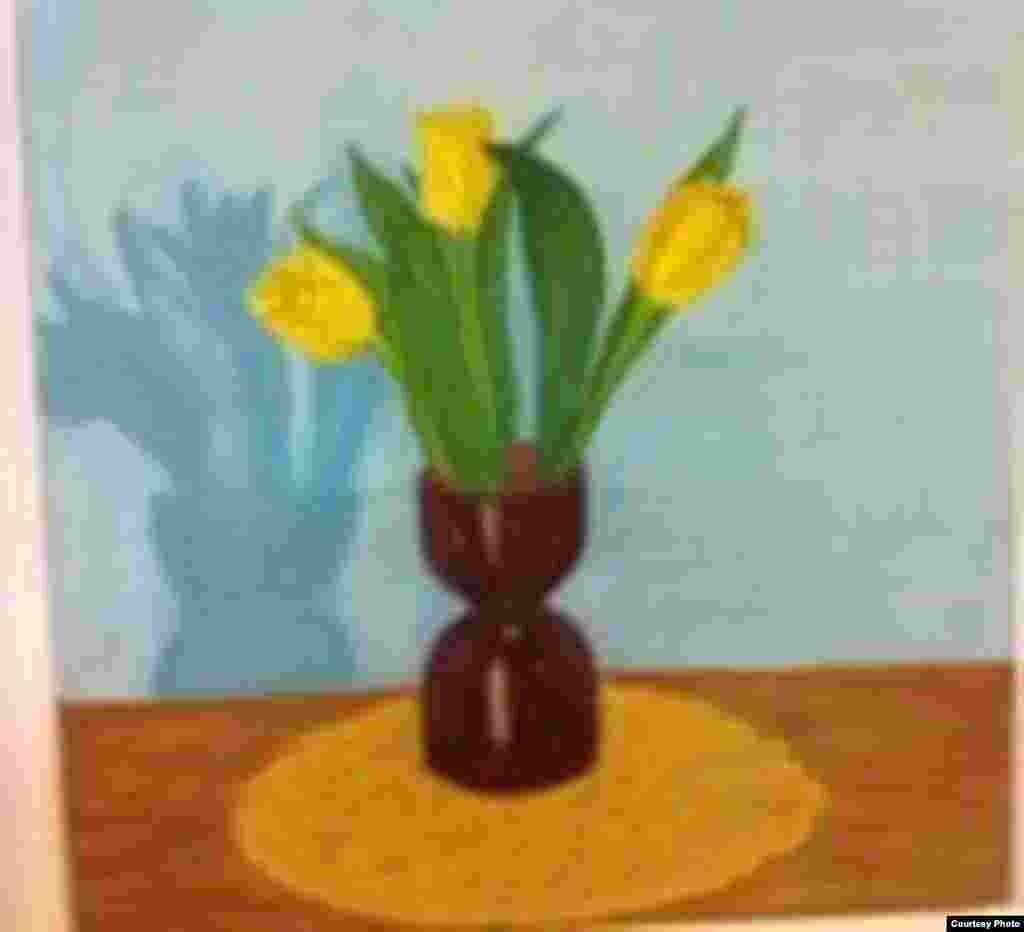 """Желтые тюльпаны"""