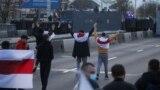 Belarus - Anti-Lukashenka protest mach in Minsk, 25oct2020