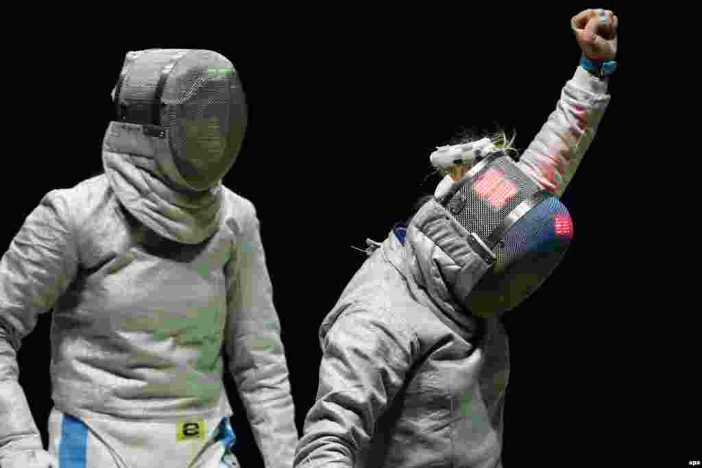 Ольга Харлан перемогла італійку Ірене Веккі у півфіналі командних змагань