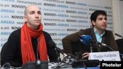 Մարիո Ստեֆանո Պիետրոդարկի (ձ) եւ Սերգեյ Սմբատյան
