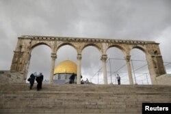 Храмовая гора Иерусалима сегодня