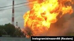 Ռուսաստան - Միտիշչիում հրդեհվել է էլեկտրակայանը, 11-ը հուլիսի, 2019թ.