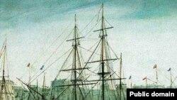 Бигль. Корабль на котором Дарвин совершил кругсветное путешествие