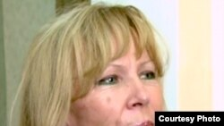 Candidata independentă Maia Laguta (Foto: ProTV Chișinău)